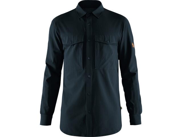 Fjällräven Abisko Trekking Shirt Men dark navy
